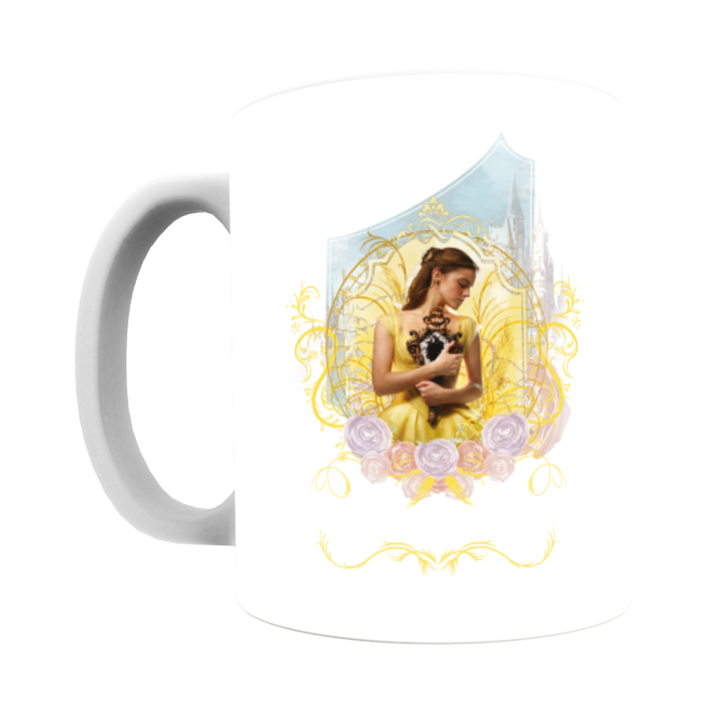 Disney Beauty and the Beast Belle 'Mirror' Mug