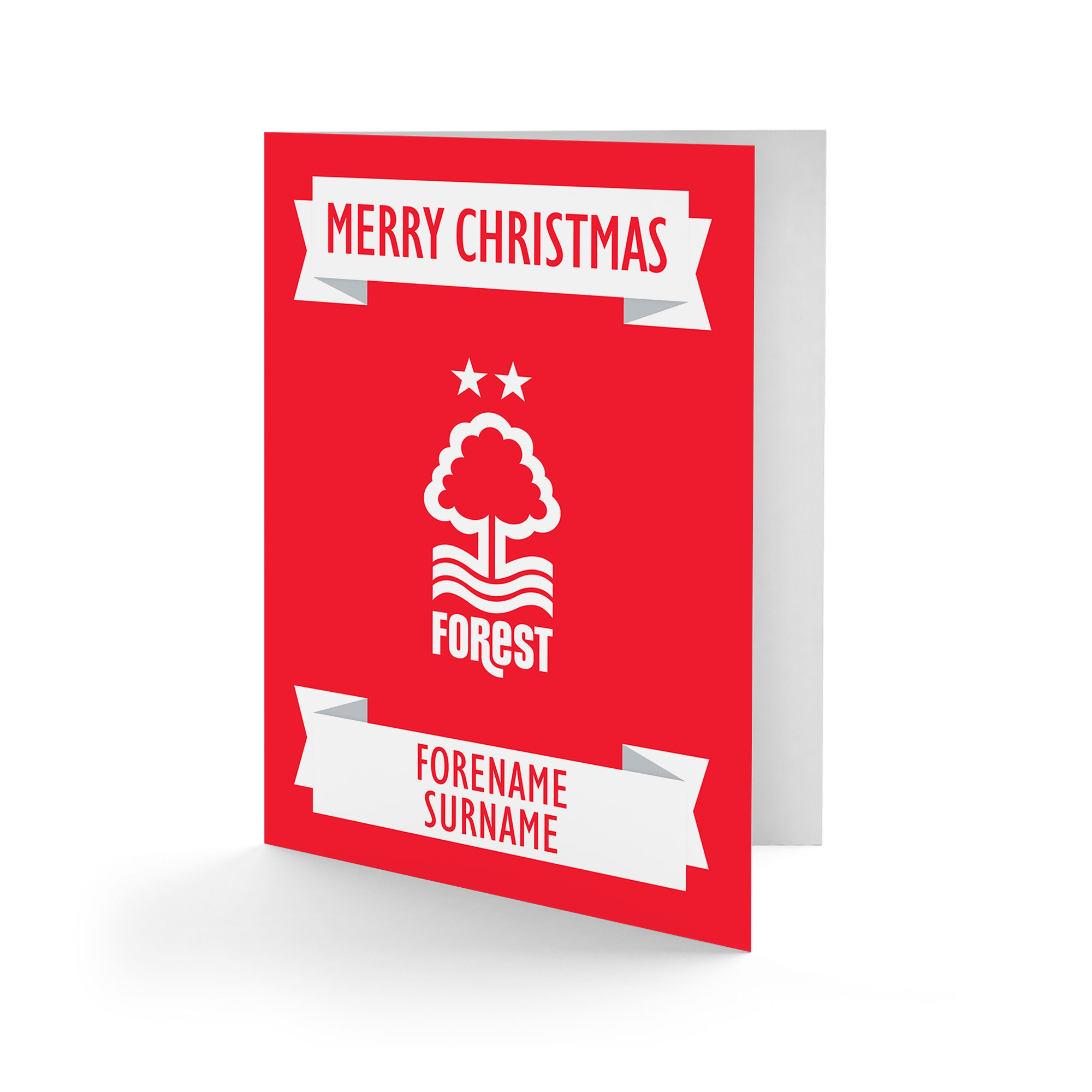 Nottingham Forest FC Crest Christmas Card