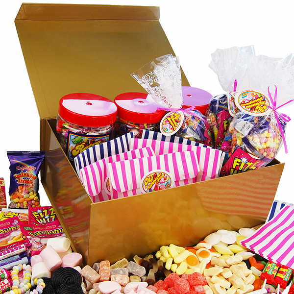 Retro Sweet Party Box