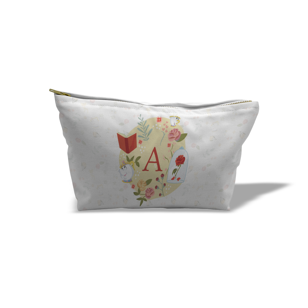 Disney Princess Belle Initial Medium Wash Bag