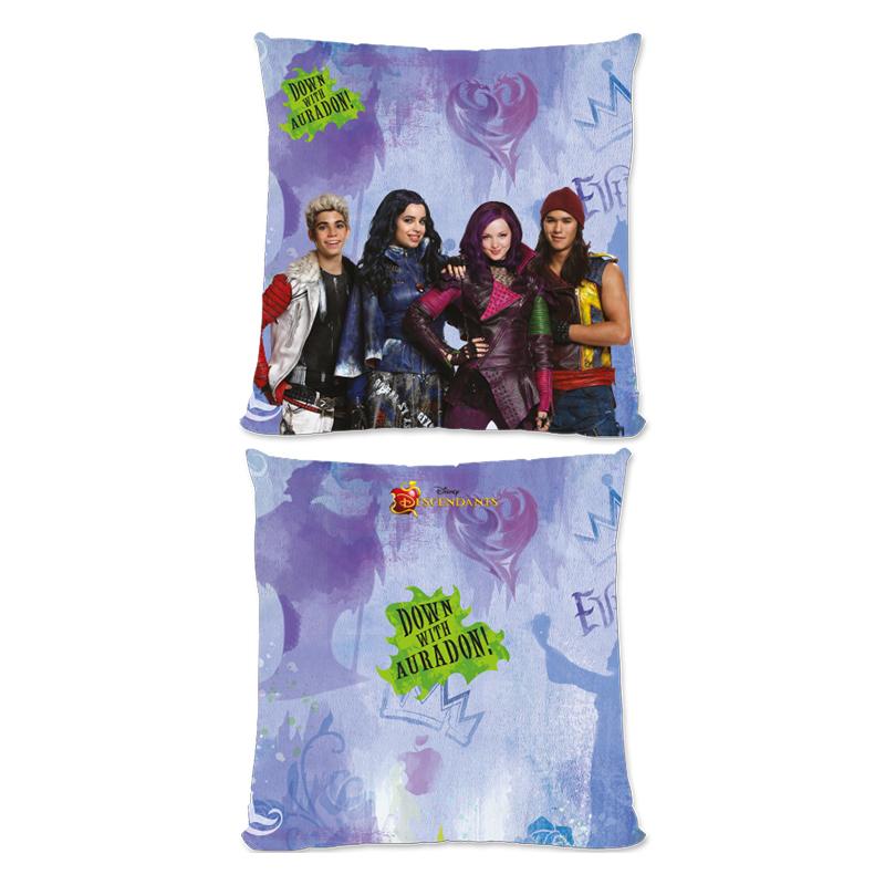 Disney The Descendants Group Design Large Fiber Cushion