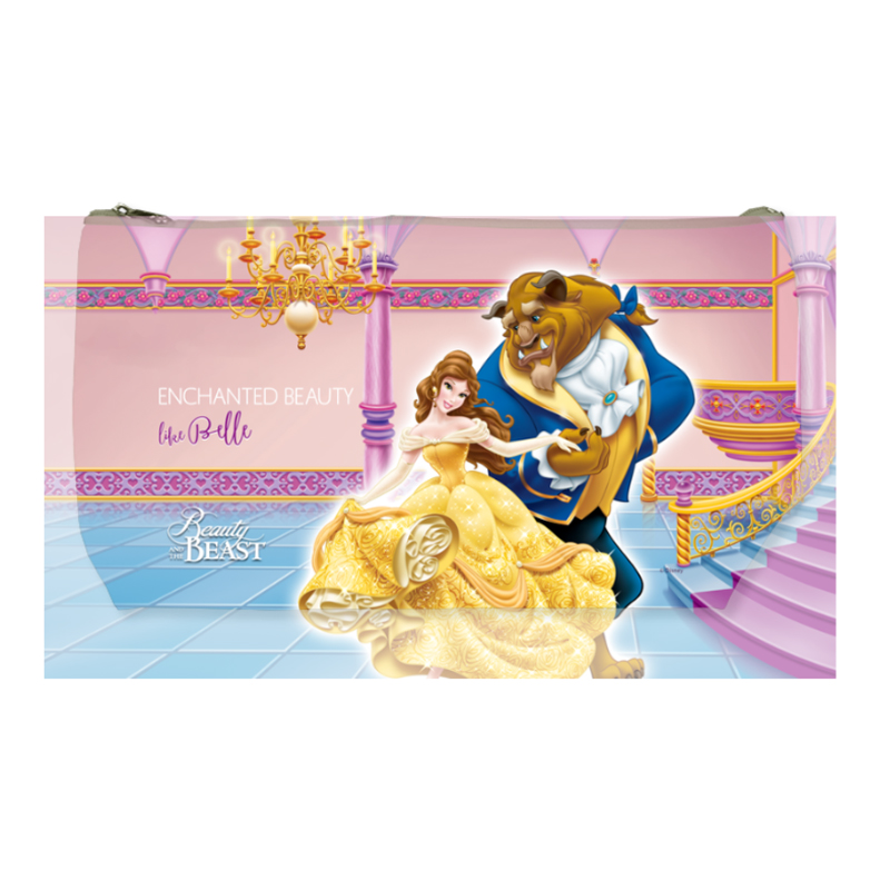 Disney Beauty and The Beast Dance Medium Wash Bag