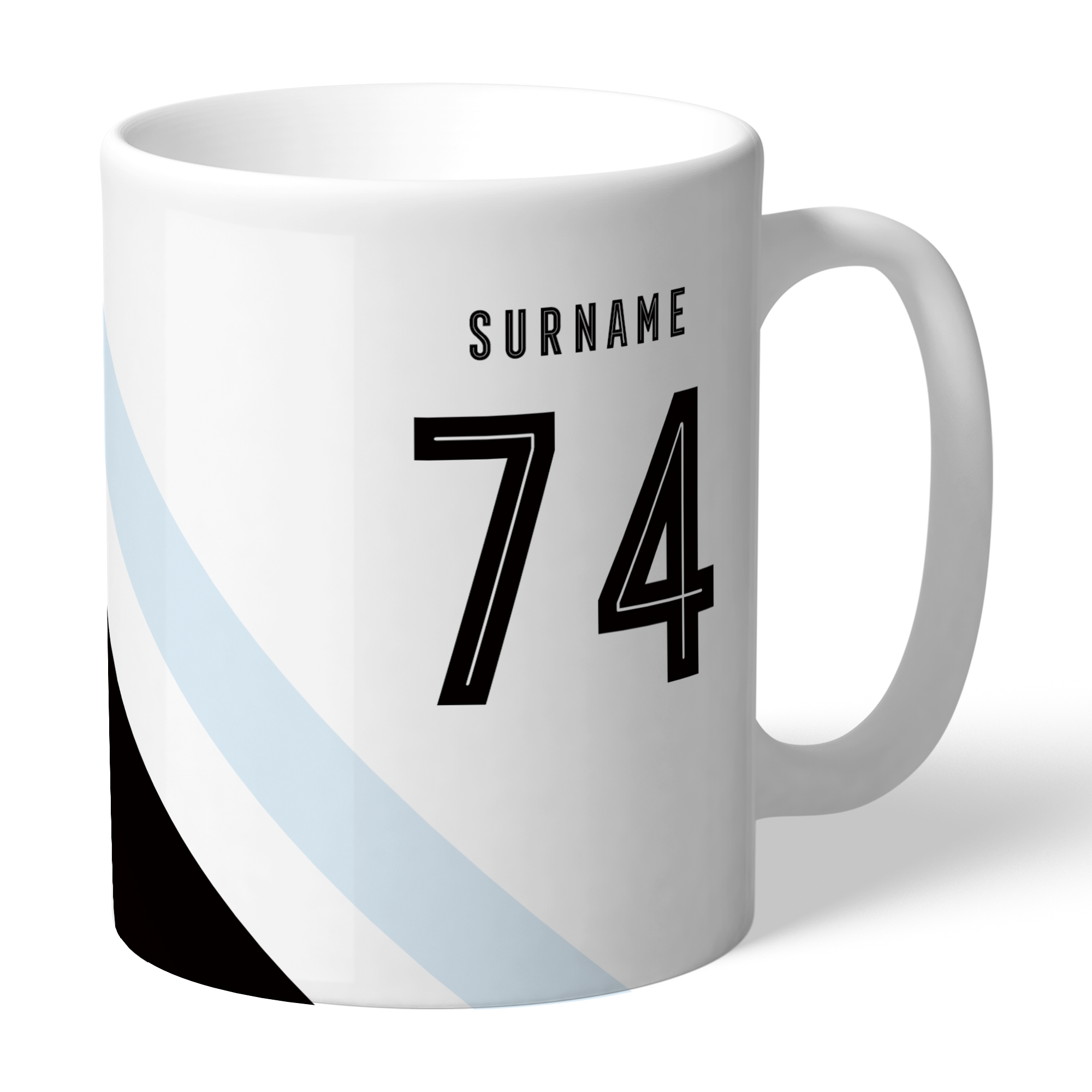Swansea City AFC Stripe Mug