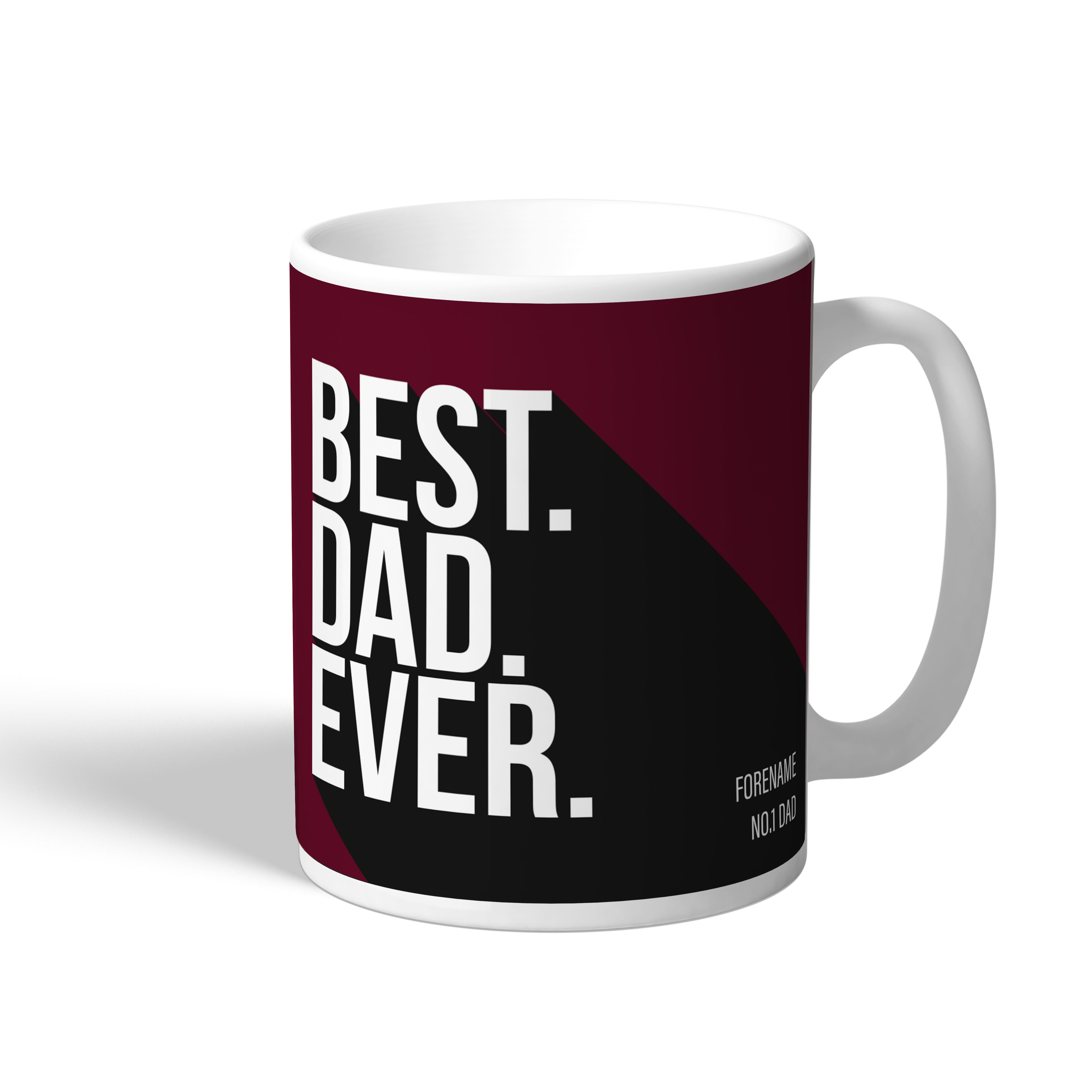 West Ham United FC Best Dad Ever Mug