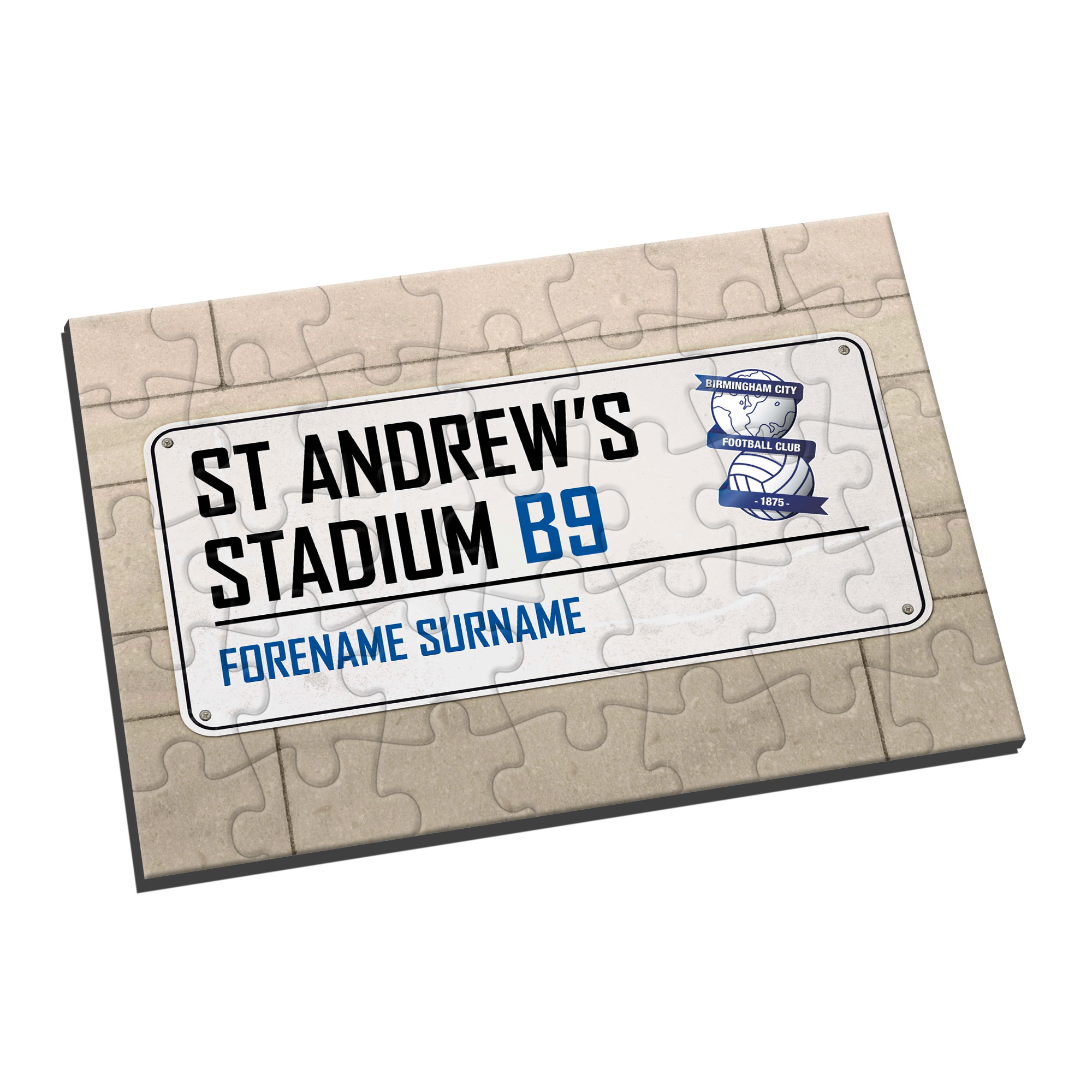 Birmingham City FC Street Sign Jigsaw