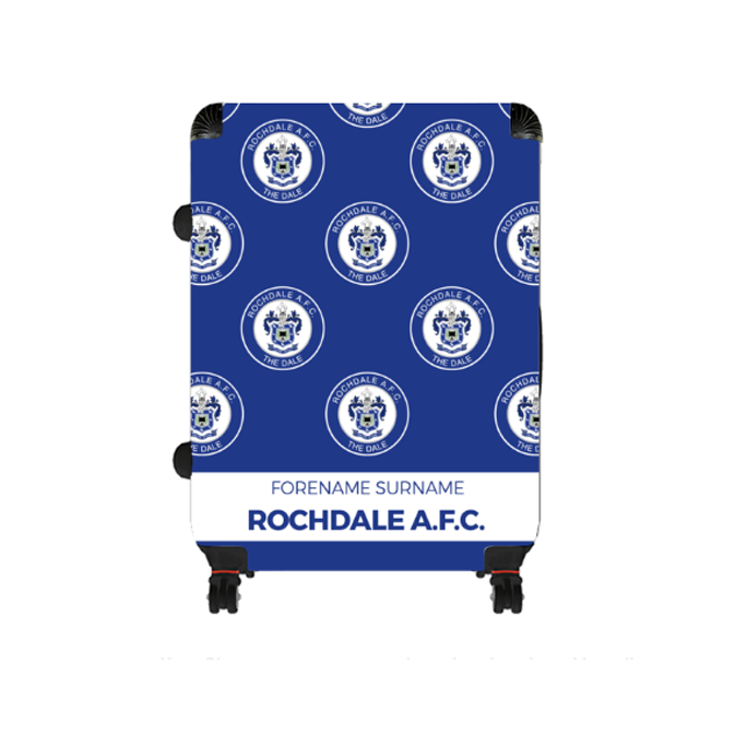 Rochdale AFC Mini Crest Large Suitcase