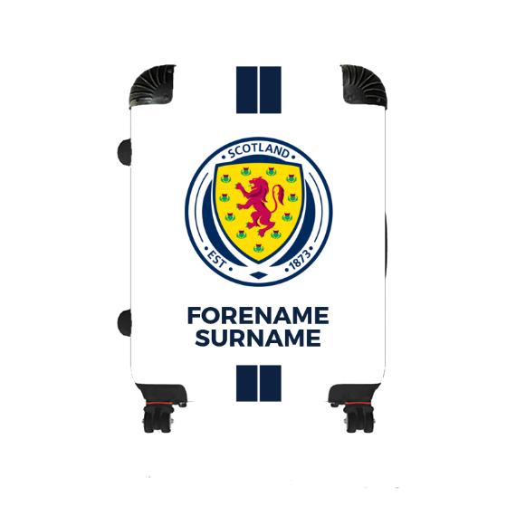 Scotland Stripe Medium Suitcase