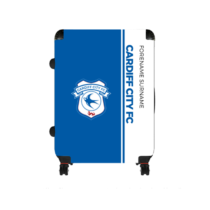 Cardiff City FC Crest Large Suitcase