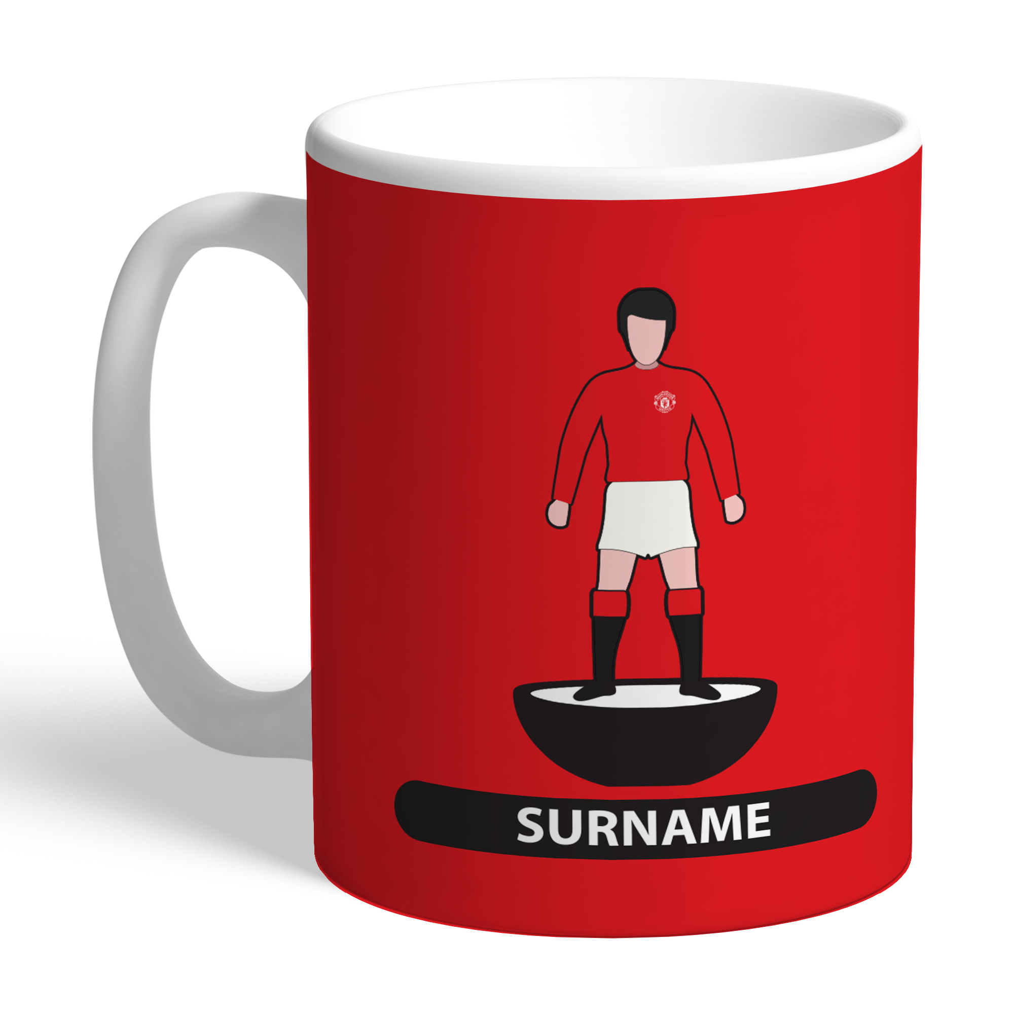 Manchester United FC Player Figure Mug