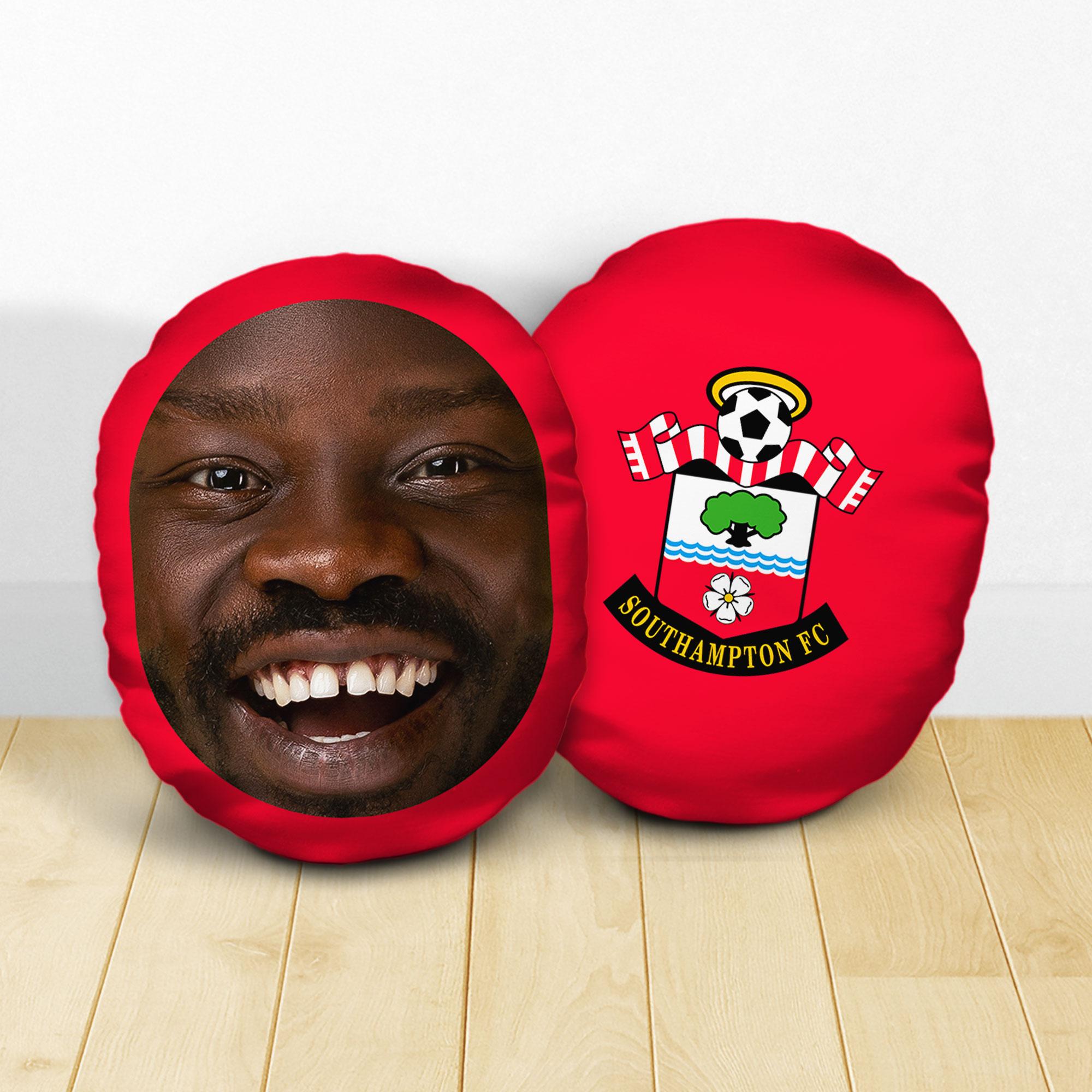 Personalised Southampton FC Crest Mush Cush