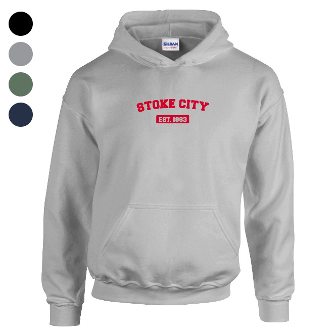 Stoke City FC Varsity Established Hoodie