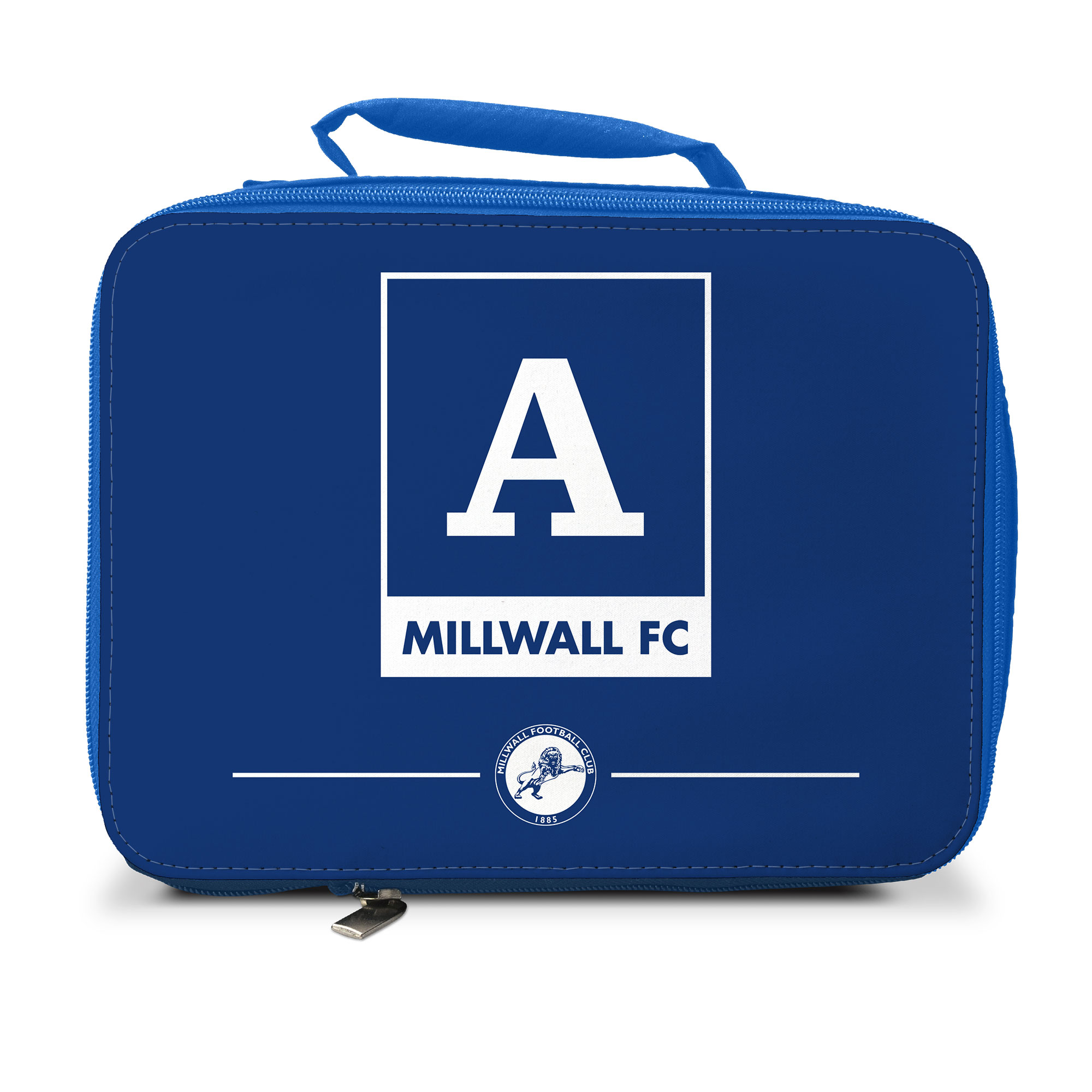 Millwall Monogram Insulated Lunch Bag - Blue