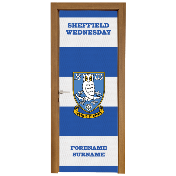 Sheffield Wednesday FC Scarf Door Banner