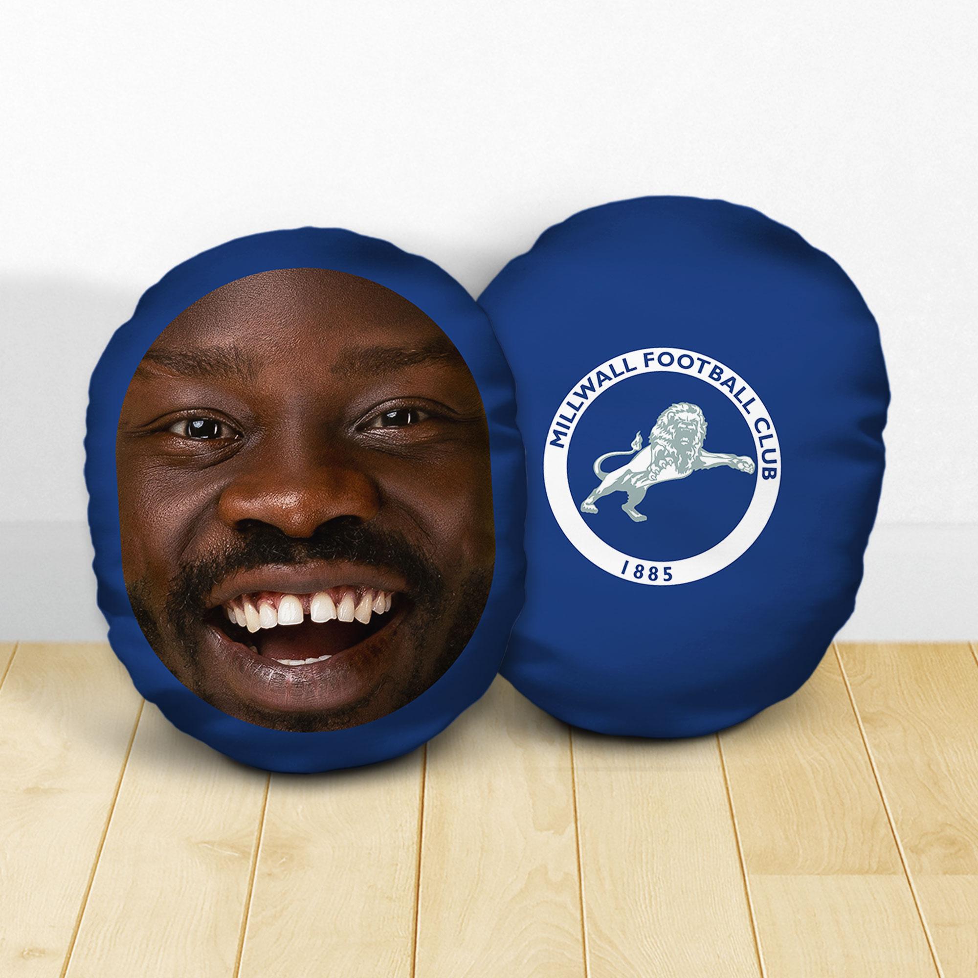 Personalised Millwall FC Crest Mush Cush