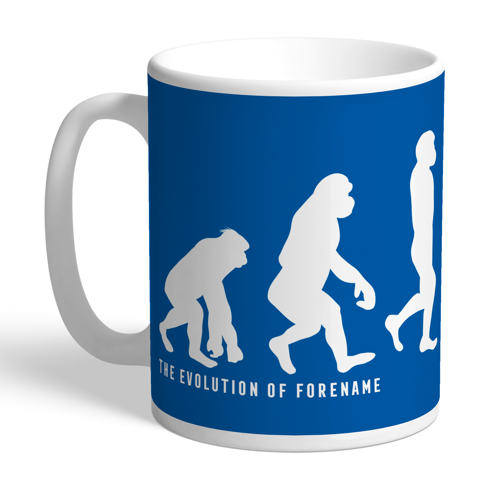 Cardiff City Evolution Mug