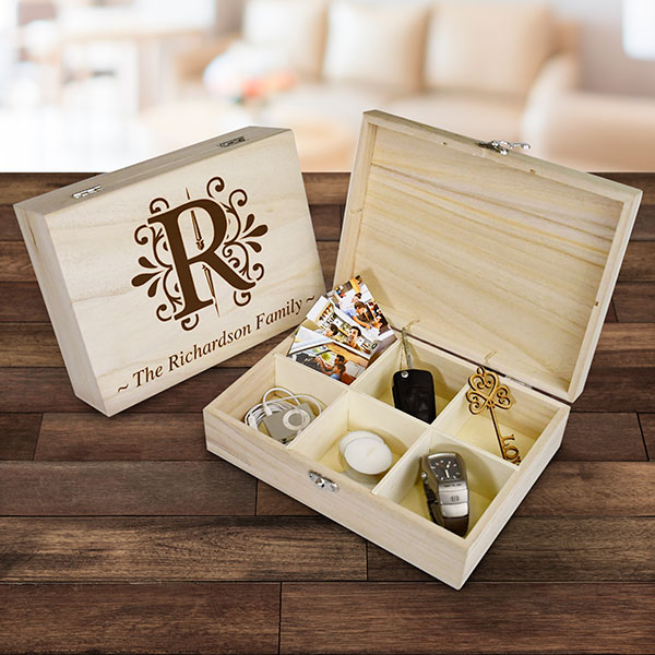 Personalised Monogram Box