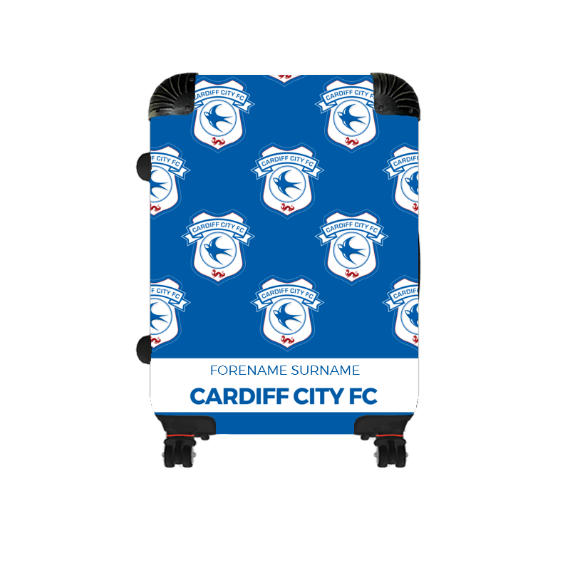 Cardiff City FC Mini Crest Cabin Suitcase