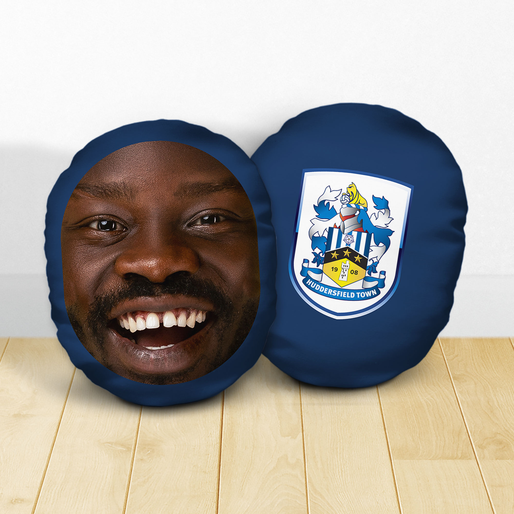 Personalised Huddersfield Town AFC Crest Mush Cush