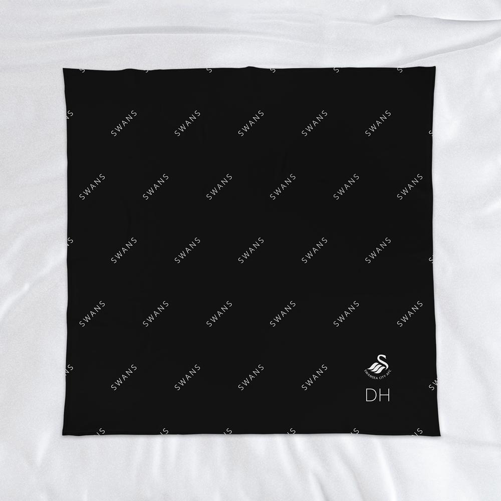 Swansea City AFC Pattern Fleece Blanket