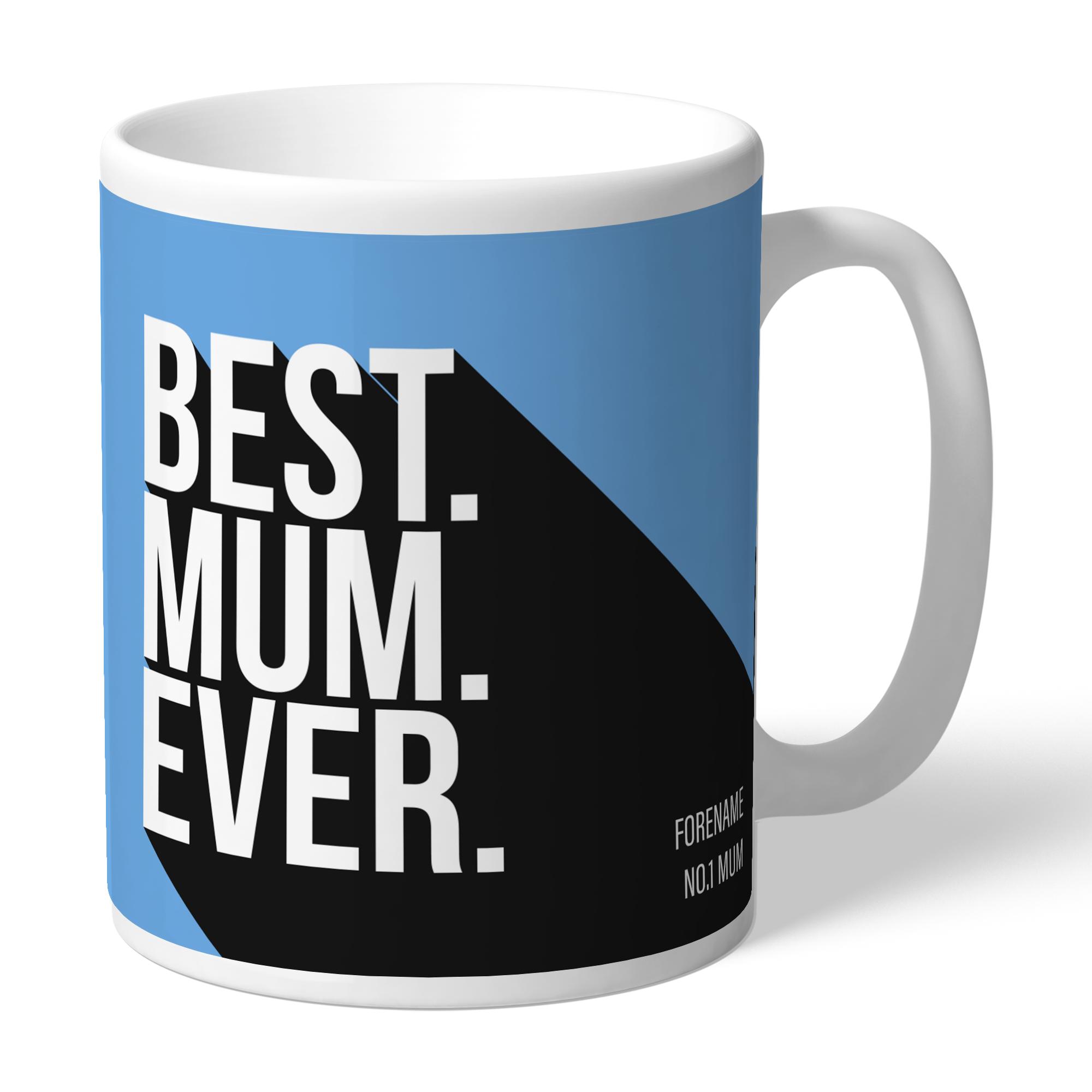 Manchester City FC Best Mum Ever Mug