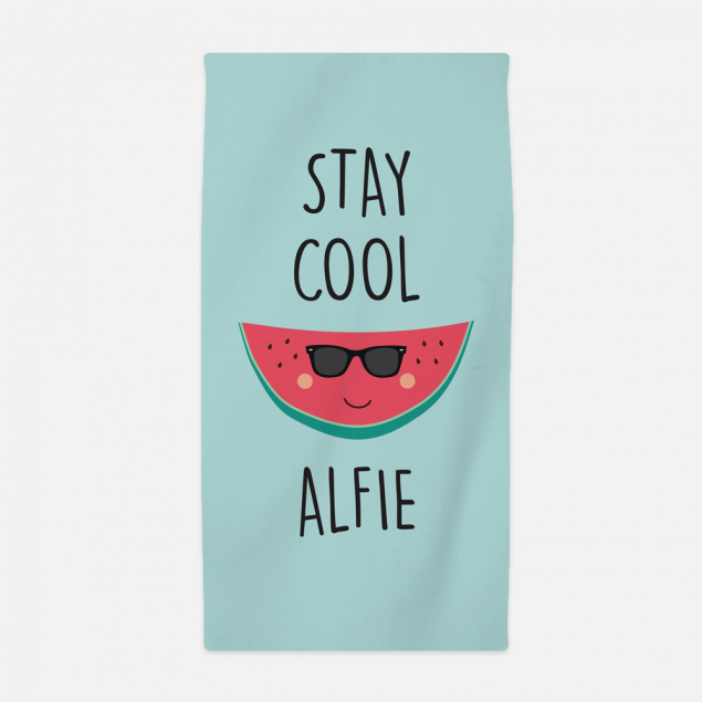 Stay Cool Kids Beach Towel