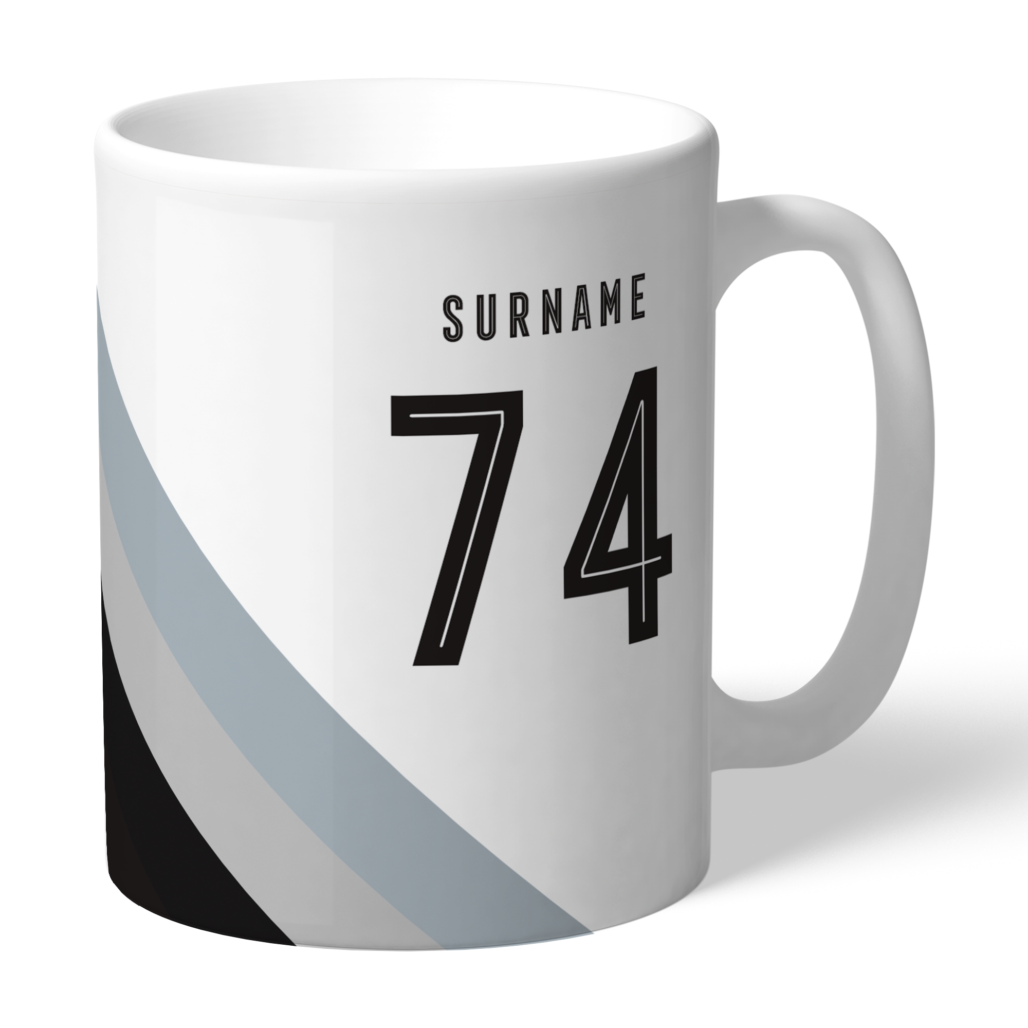 Newcastle United FC Stripe Mug