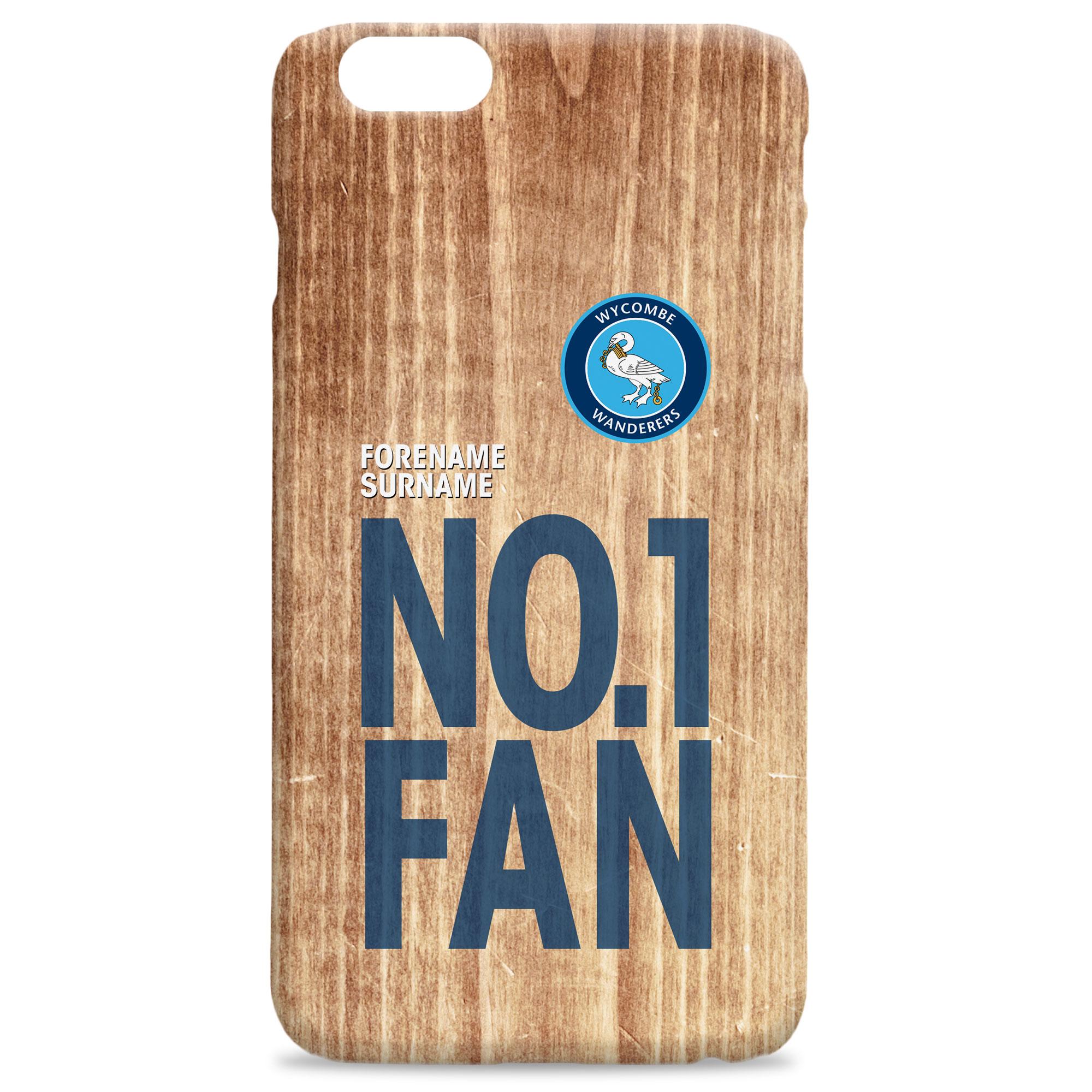 Wycombe Wanderers No 1 Fan Hard Back Phone Case