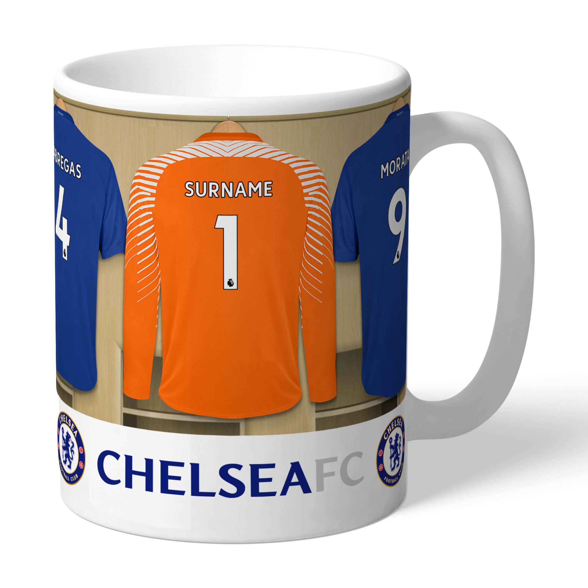 Chelsea FC Goalkeeper Dressing Room Mug