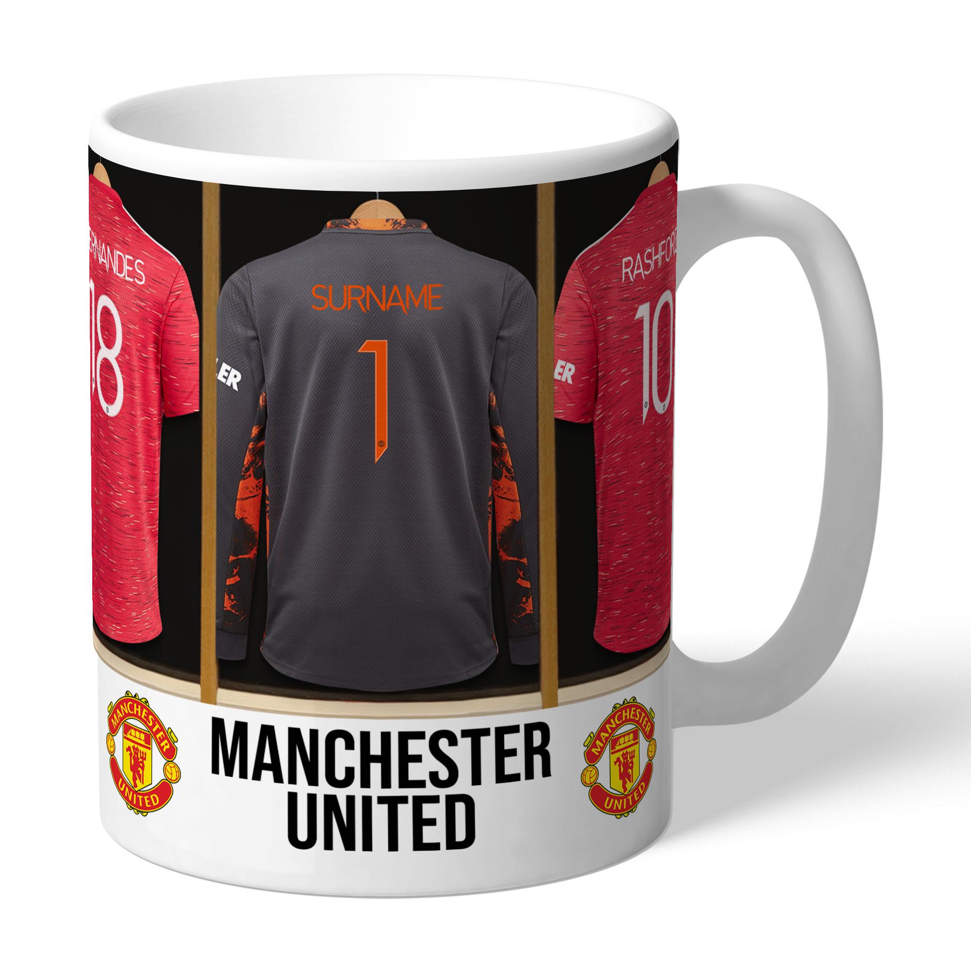 Manchester United FC Goalkeeper Dressing Room Mug