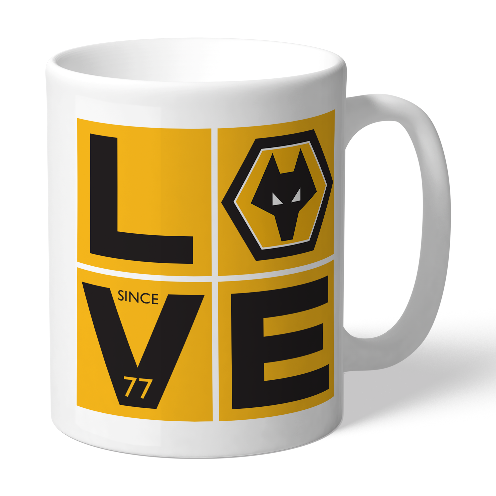 Wolverhampton Wanderers Love Mug