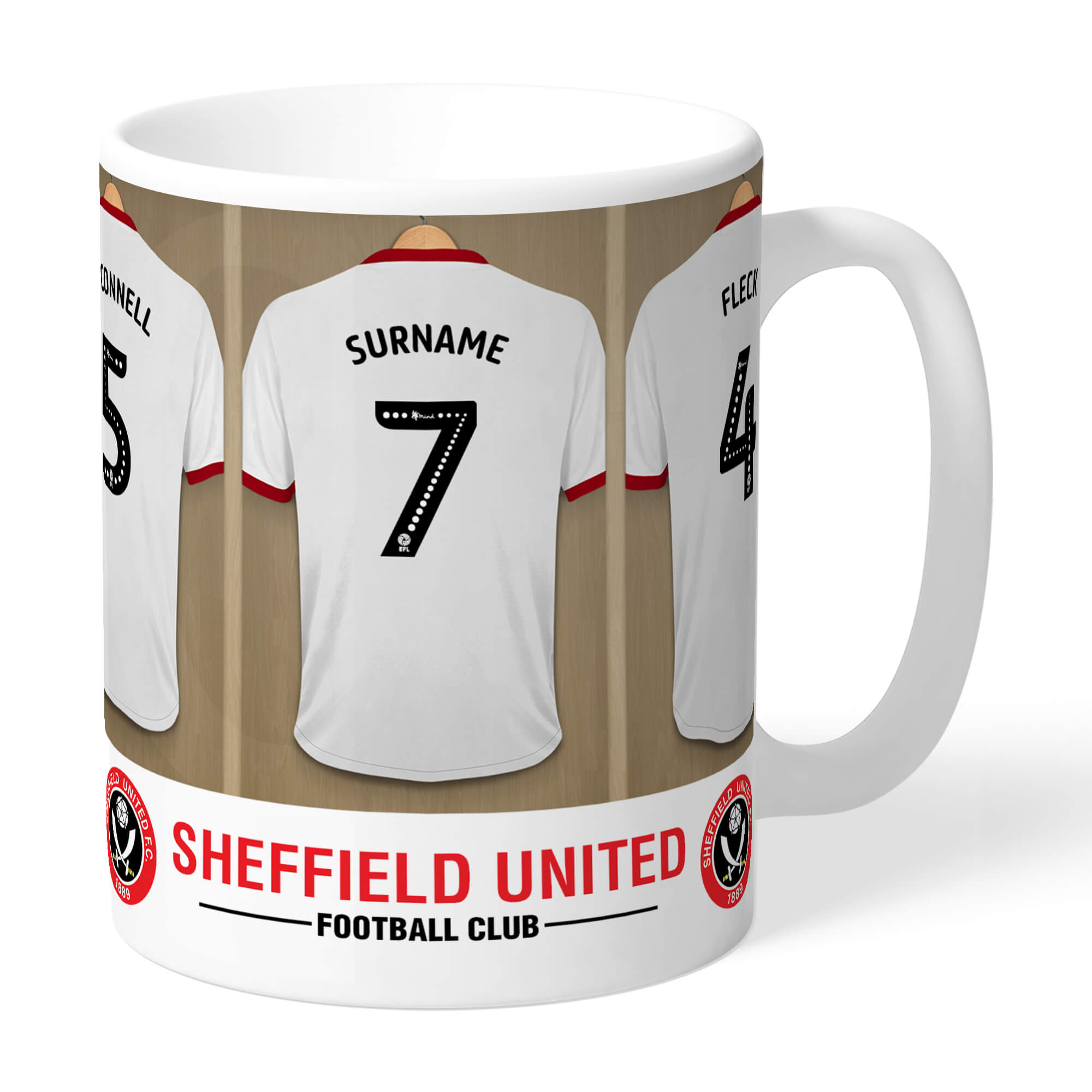 Sheffield United FC Dressing Room Mug
