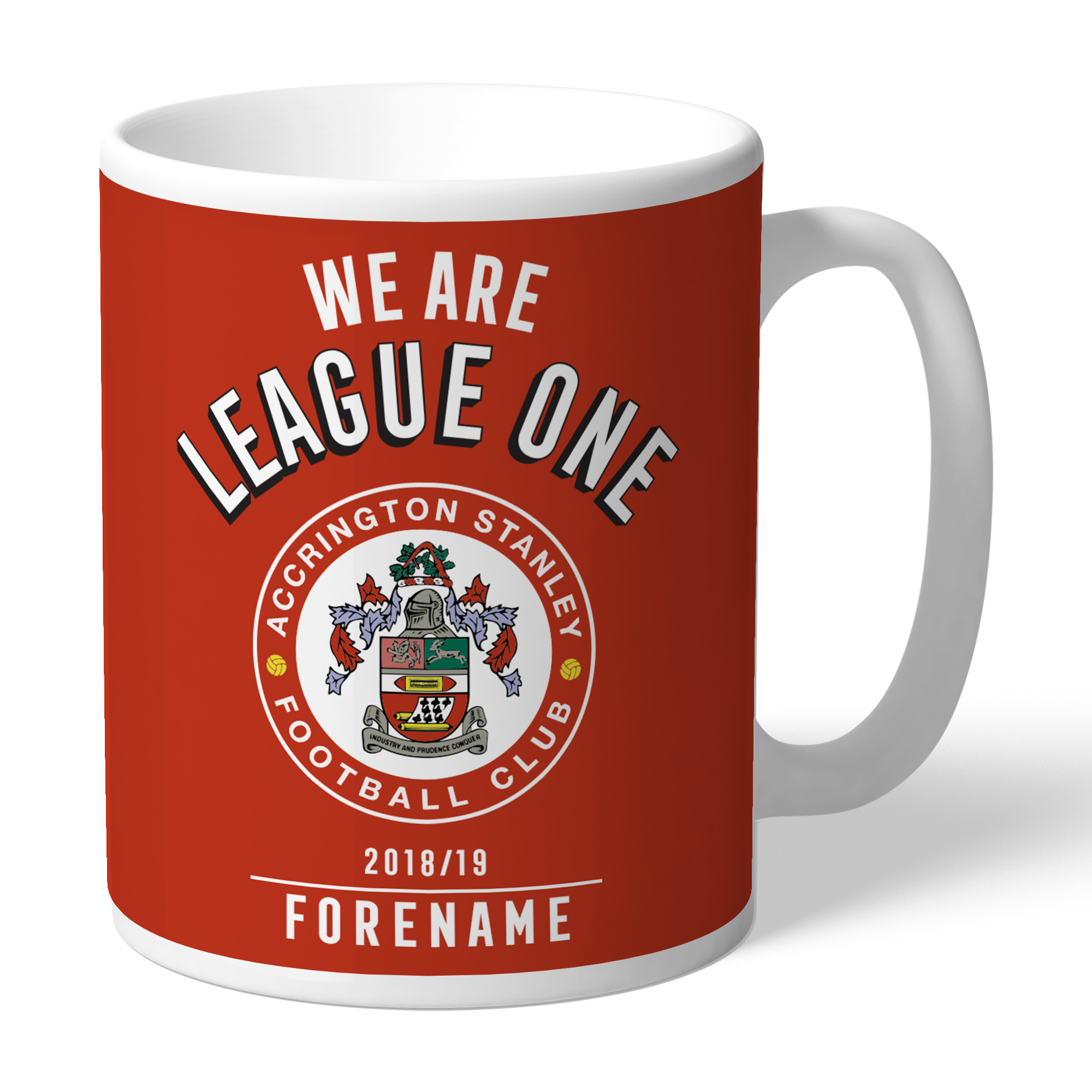 Accrington Stanley FC We Are League One Mug