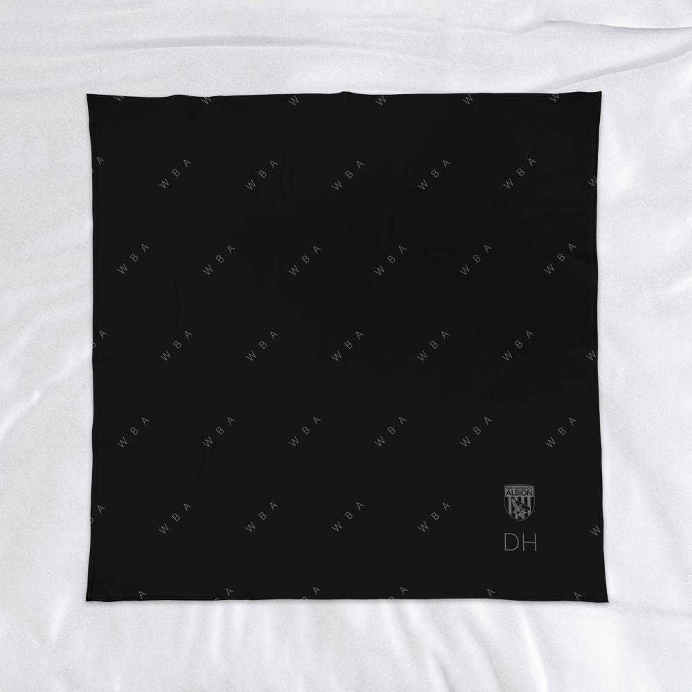 West Bromwich Albion FC Pattern Fleece Blanket