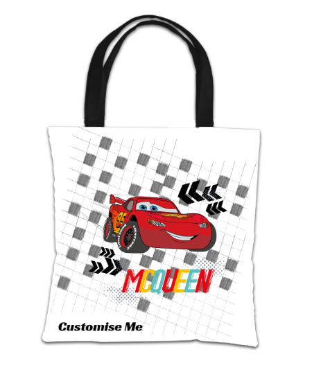 Disney Cars Group Scene Tote Bag
