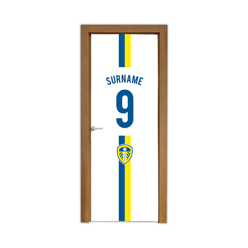 Leeds United FC Shirt Door Banner