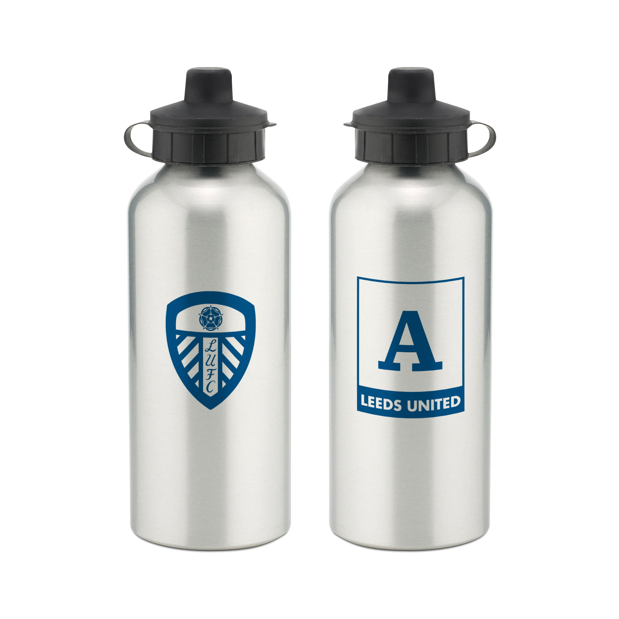 Leeds United FC Monogram Aluminium Water Bottle