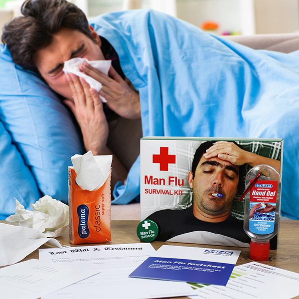 Man Flu Lifestyle Image