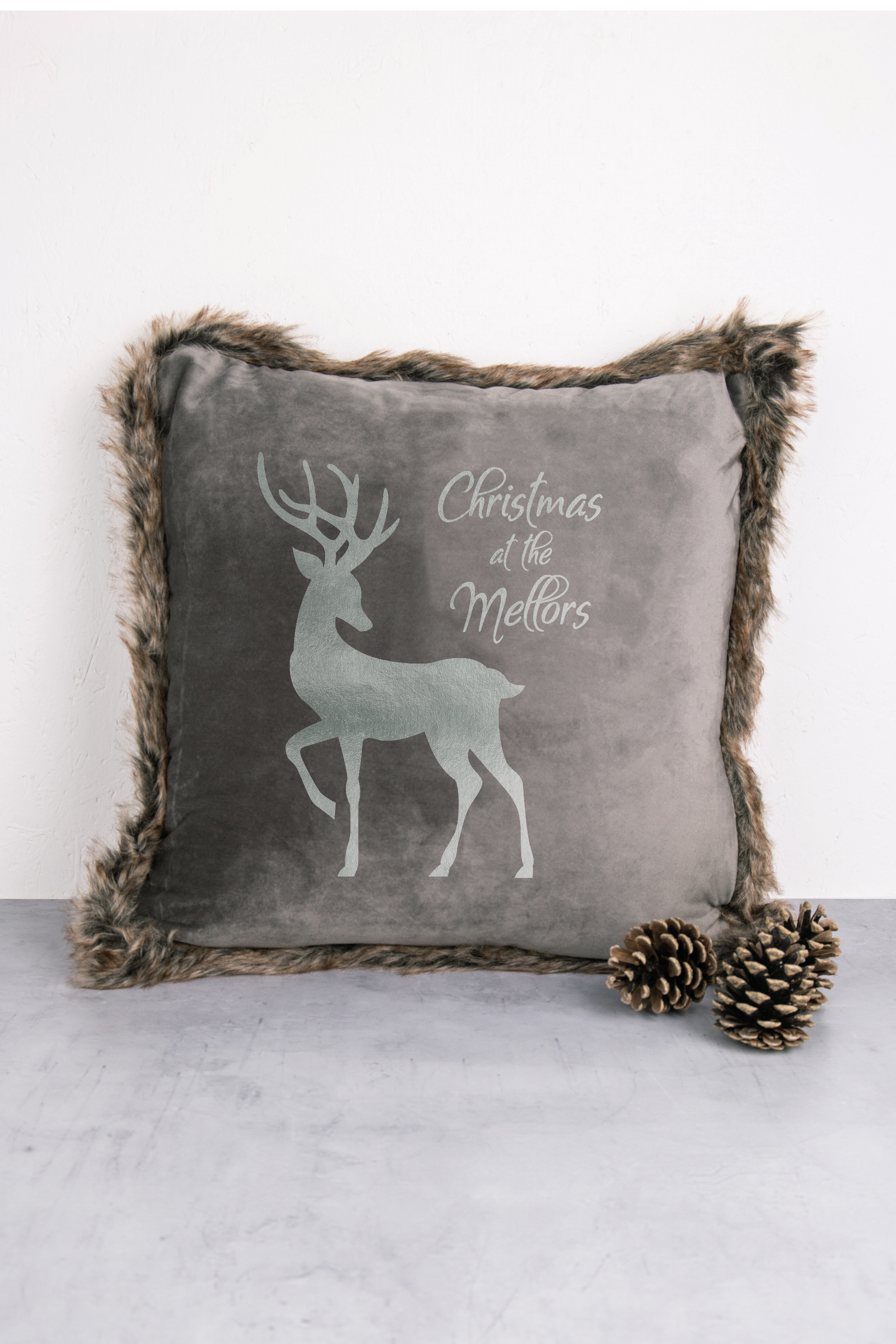 Stag Grey Valour Cushion