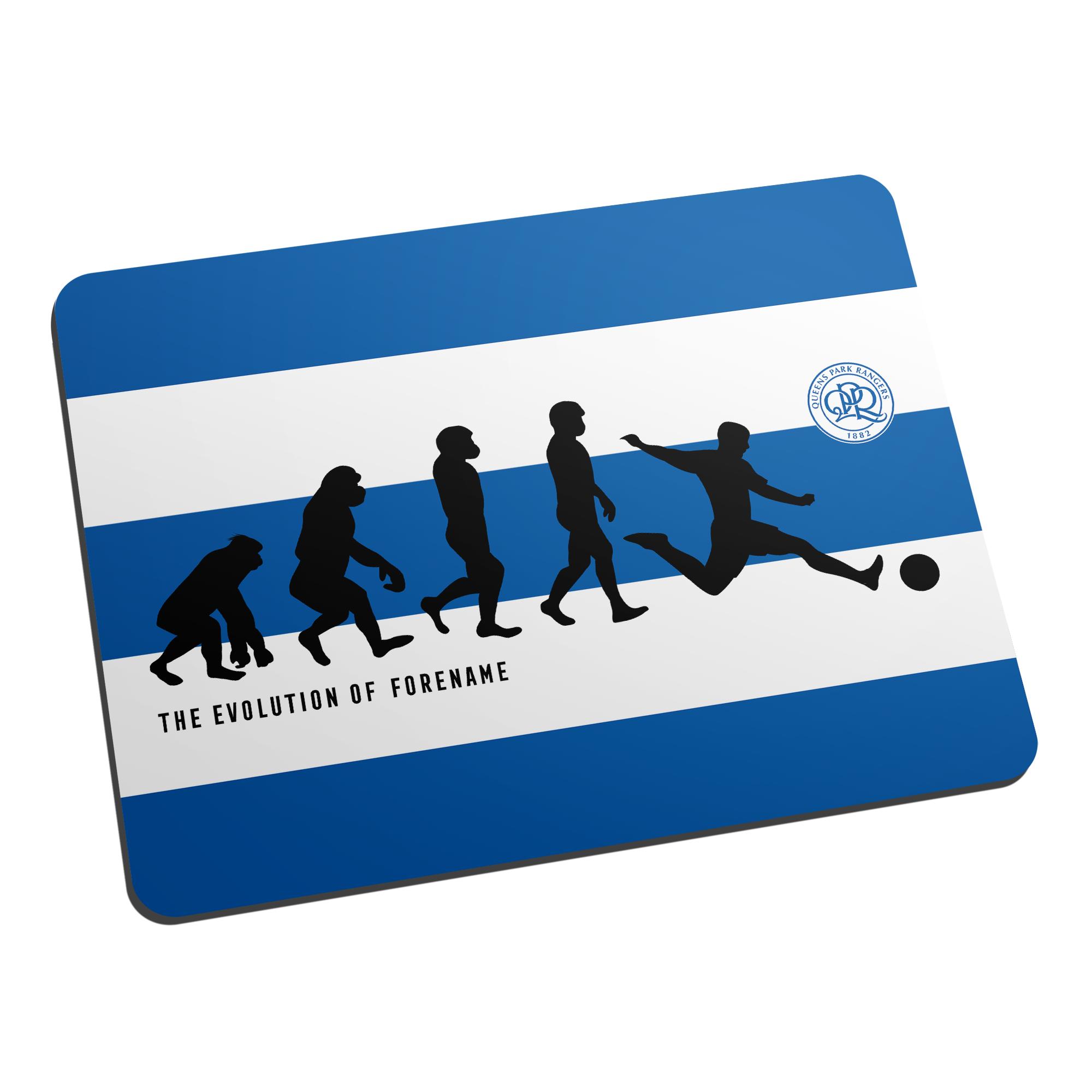 Queens Park Rangers FC Evolution Mouse Mat
