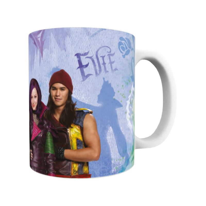 Disney The Descendants Group Design Mug
