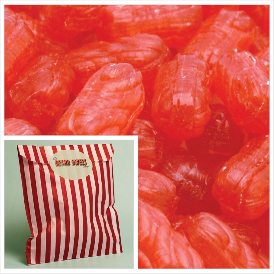Aniseed Twists Sweet Bag