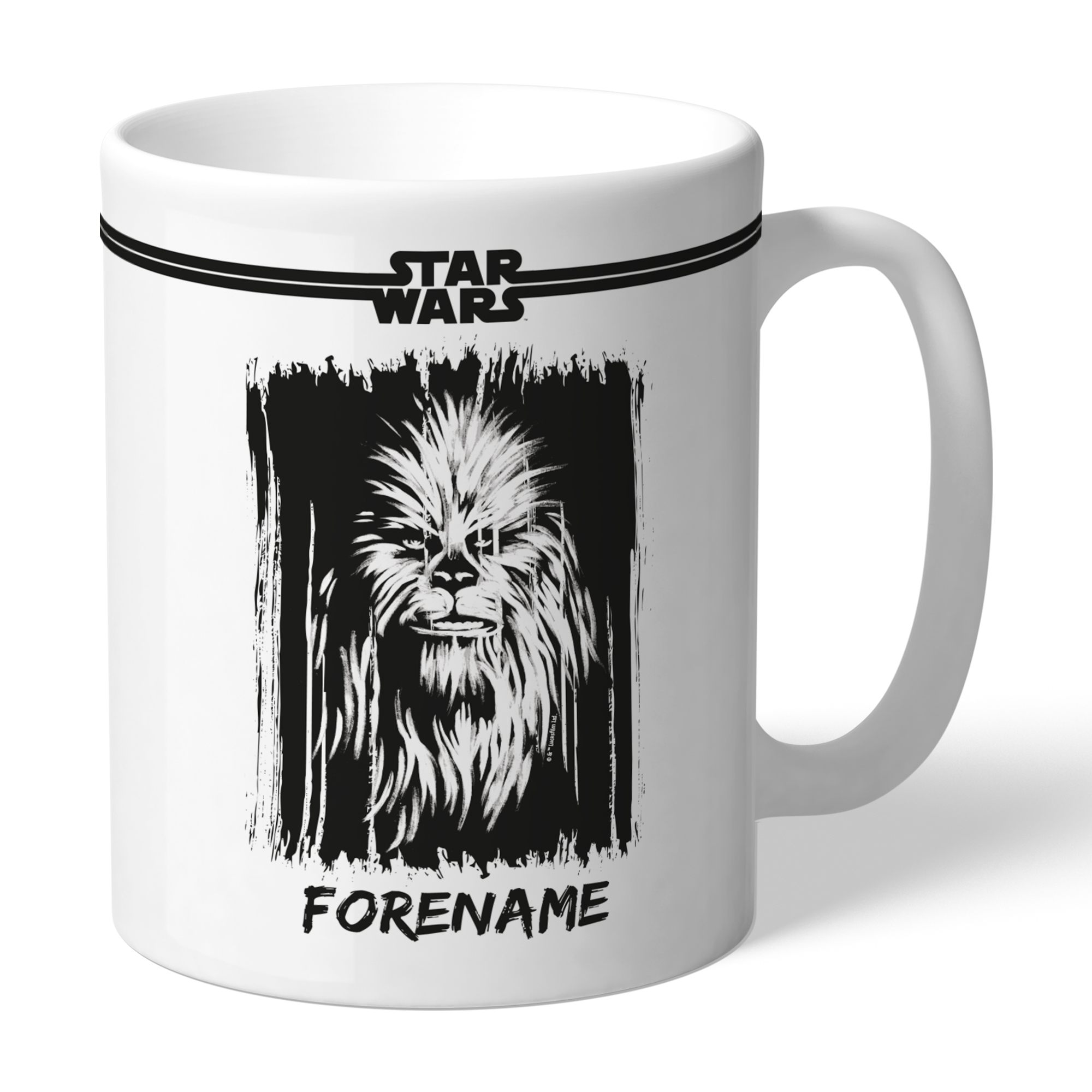 Star Wars Chewbacca Paint Mug