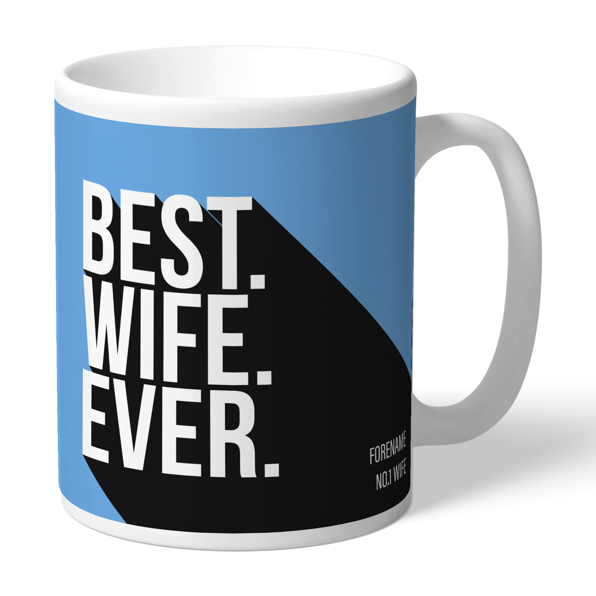 Manchester City FC Best Wife Ever Mug