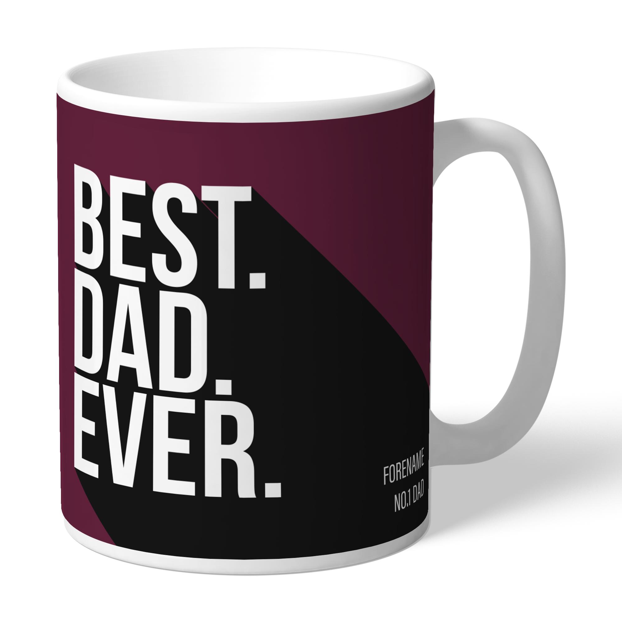 Burnley FC Best Dad Ever Mug