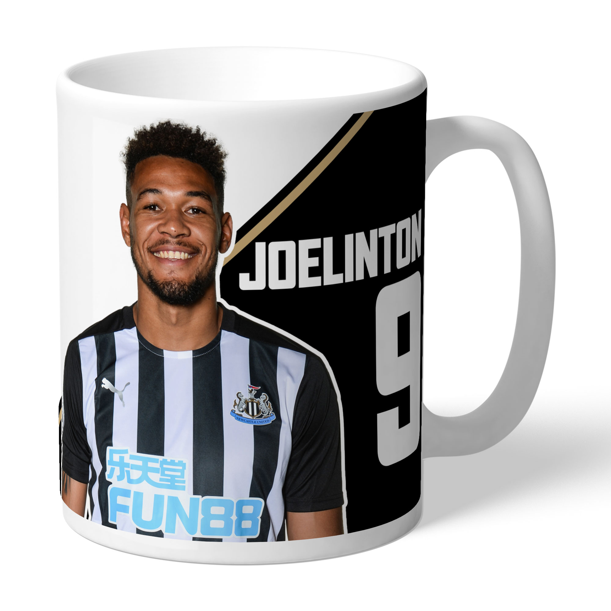 Newcastle United FC Joelinton Autograph Mug