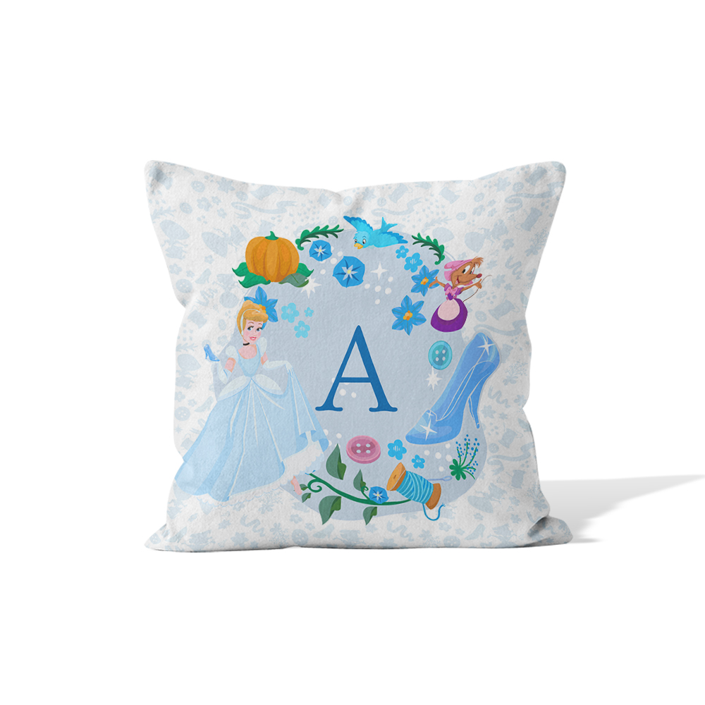Disney Princess Cinderella Initial Cushion