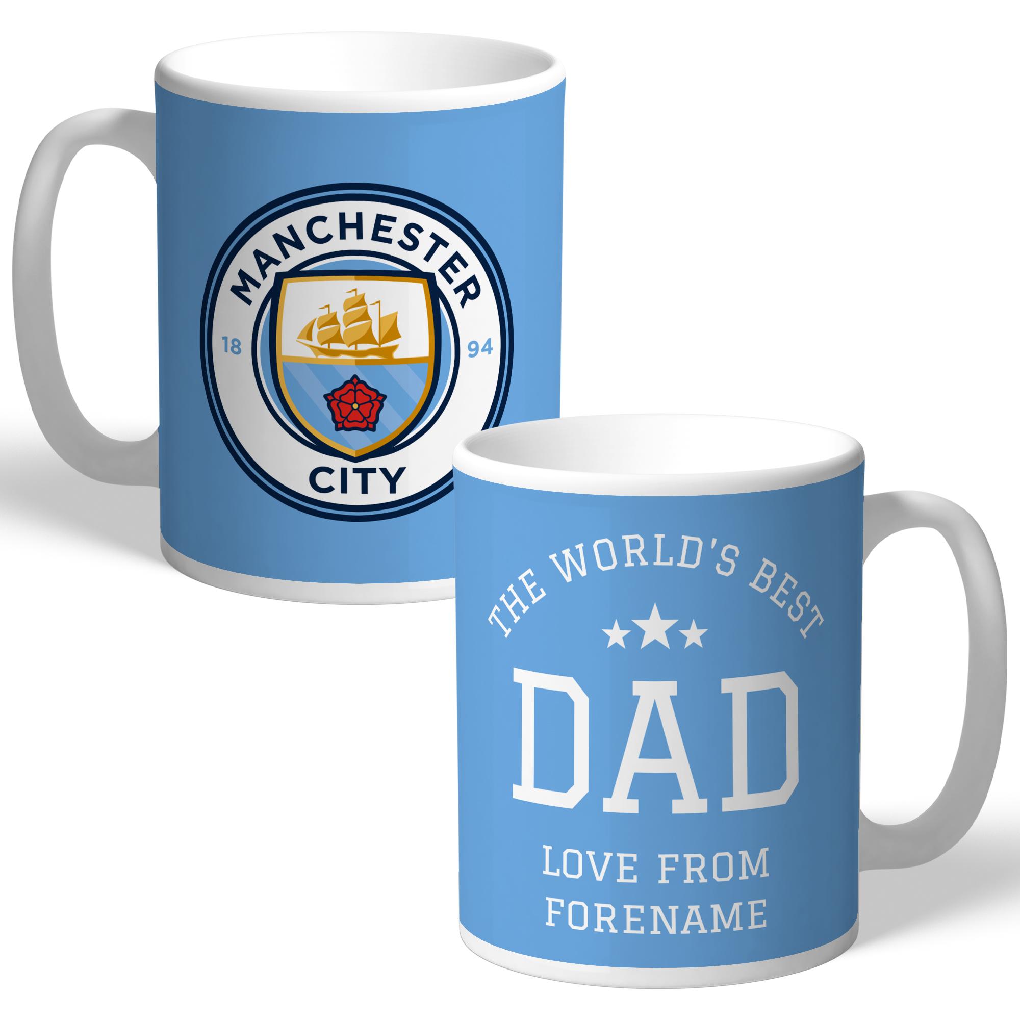 Manchester City FC World's Best Dad Mug