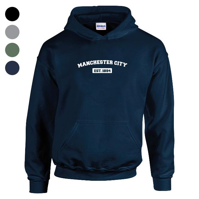 Manchester City FC Varsity Established Hoodie