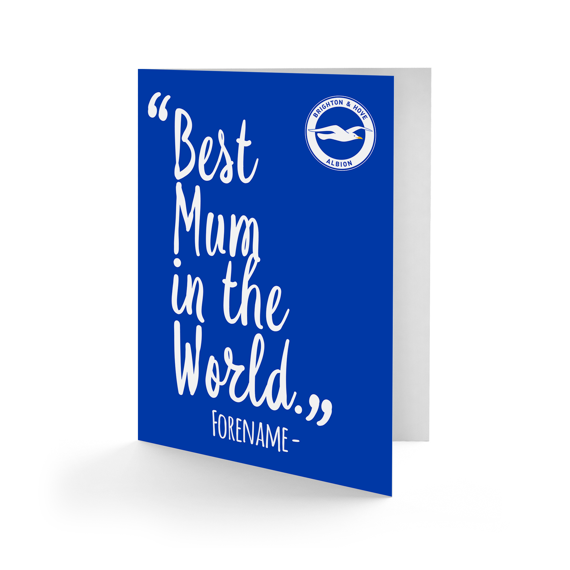 Brighton & Hove Albion FC  Best Mum In The World Card