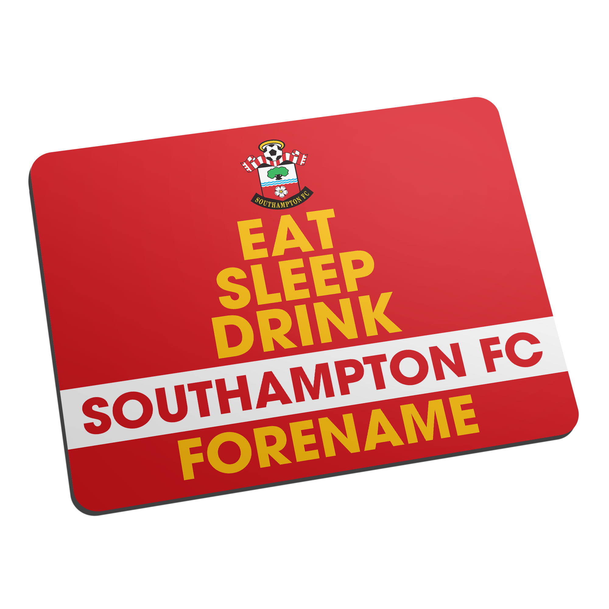 Southampton FC Eat Sleep Drink Mouse Mat